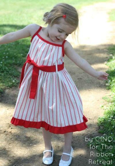 The Posy Dress Tutorial - The Ribbon Retreat Blog