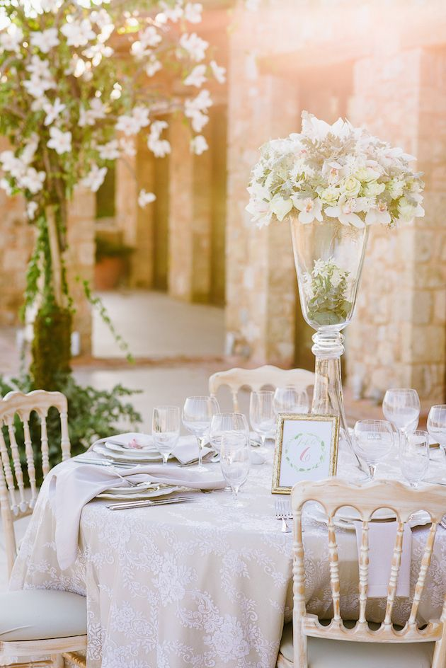 Elegant wedding reception table setting | Elias Kordelakos Photography | Bridal Musings Wedding Blog 23 & 75 best Greek Themed Bridal Shower images on Pinterest | Greek ...