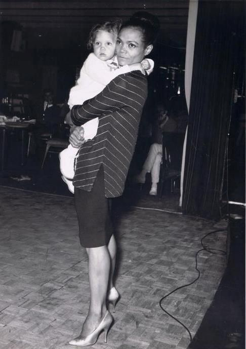 Eartha Kitt and daughter Kitt McDonald