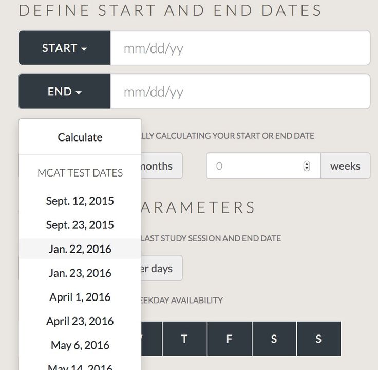 Mcat registration dates in Australia