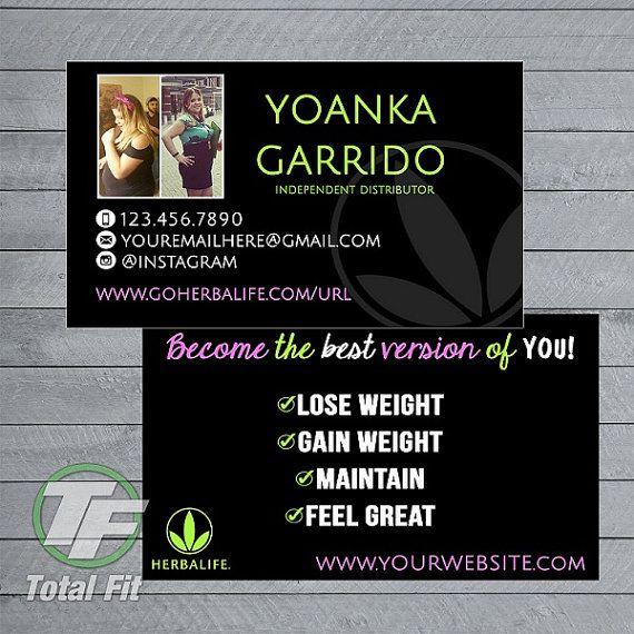 12 best business cards images on pinterest business cards herbalife business cards herbalife graphics by totalfitwear reheart Gallery