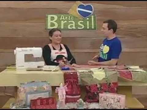 ARTE BRASIL - ELIANA ZERBINATTI - MANTA DE FLANELA RAG QUILT (01/06/2011 - Parte 1 de 2) - YouTube