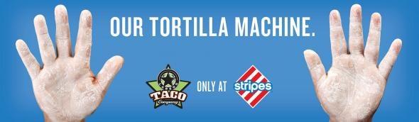 Stripes Convenience Stores: Tortilla Machine