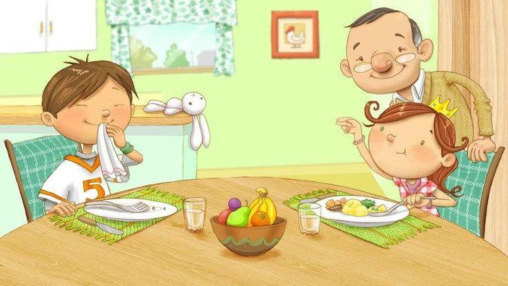 La alimentación del niño de 1 a 3 años