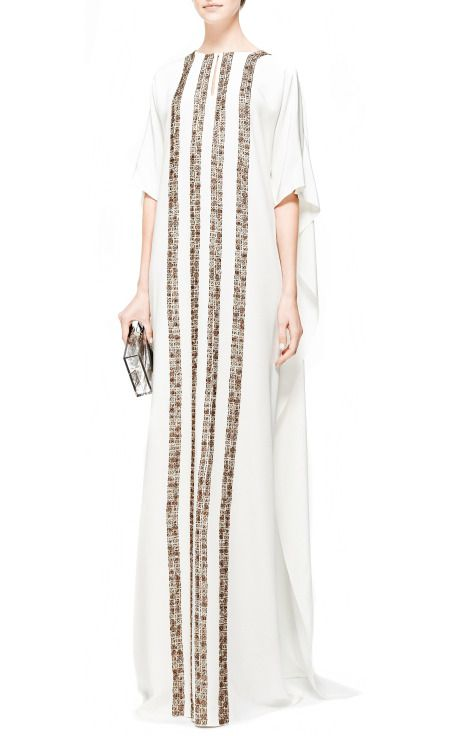http://modaoperandi.com/oscar-de-la-renta-fw14/front-gold-striped-kaftan-dress