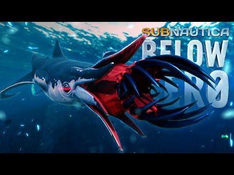 NEW LEVIATHANS BATTLE! - Subnautica Below Zero - Squidshark Update