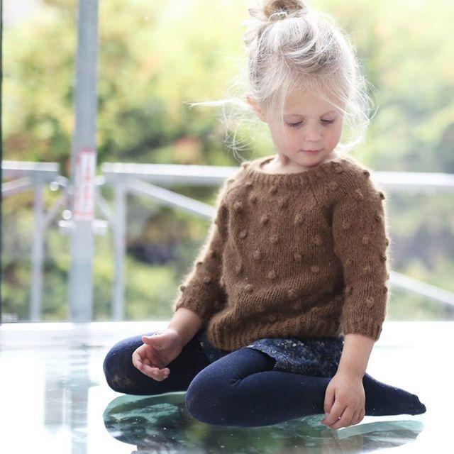 #popcorngenser /#popcornsweater #paelas #knittingpattern #strikkemønster #picklesyarn angora