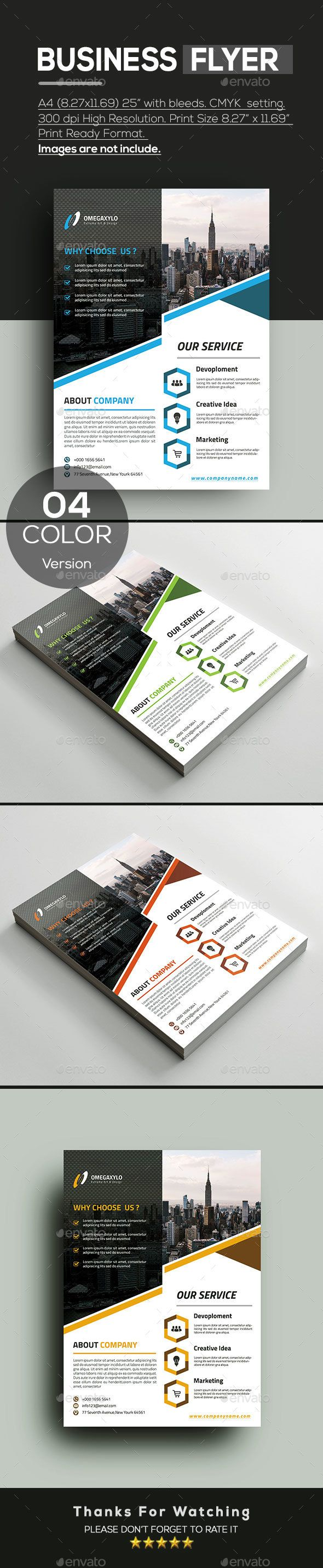 #Business #Flyer - #Corporate Flyers