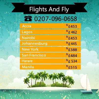 07 Days Flight sale  Travel Seasons: 07-May-2014 to 07-Jul-2014  Call us now to book 0207-096-0658