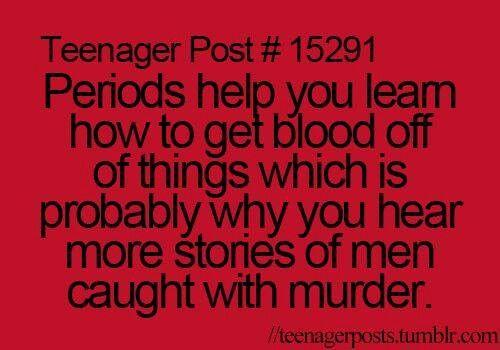 Haha WOW! periods..