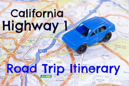 Highway 1 road trip for families. A six-day road trip itinerary with lodging, activities, and links!