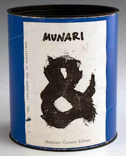 Bruno Munari ampersand + typographic t-shirts created for publisher Maurizio…