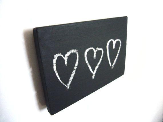 Chalkboard Magnet - Magnetic Blackboard - Small Chalkboard Sign - Fridge Magnet - Refrigerator Magnet - Fun Magnets - Blank Magnet A blank chalkboard