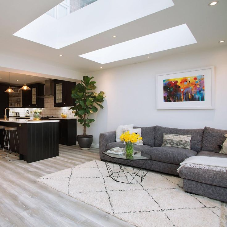 Admirals Kitchen Living Room Remodel: Wonderful Example Of Open Plan Living In This Earlsfield