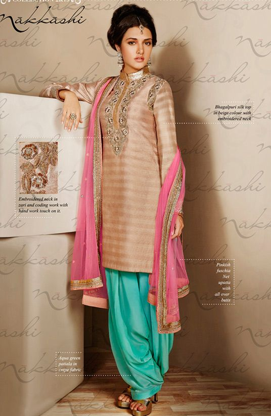 103 best Punjabi Suits images on Pinterest | Indian dresses ...