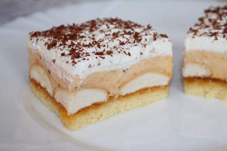 Marhuľový krémový koláč