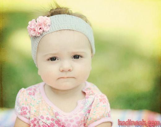 En Tatlı Mavi Gözlü Kız Bebekler