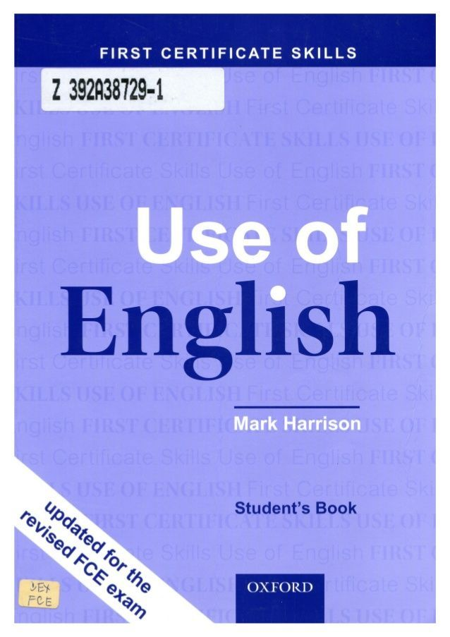 48632263 Use Of English Fce Skills 140224112007 Phpapp01 Teacher Books Learn English English Exam