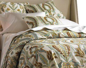 Renaissance Villa Multicotton Duck Sham, 26 by 26 craftsman bed pillows and pillowcases