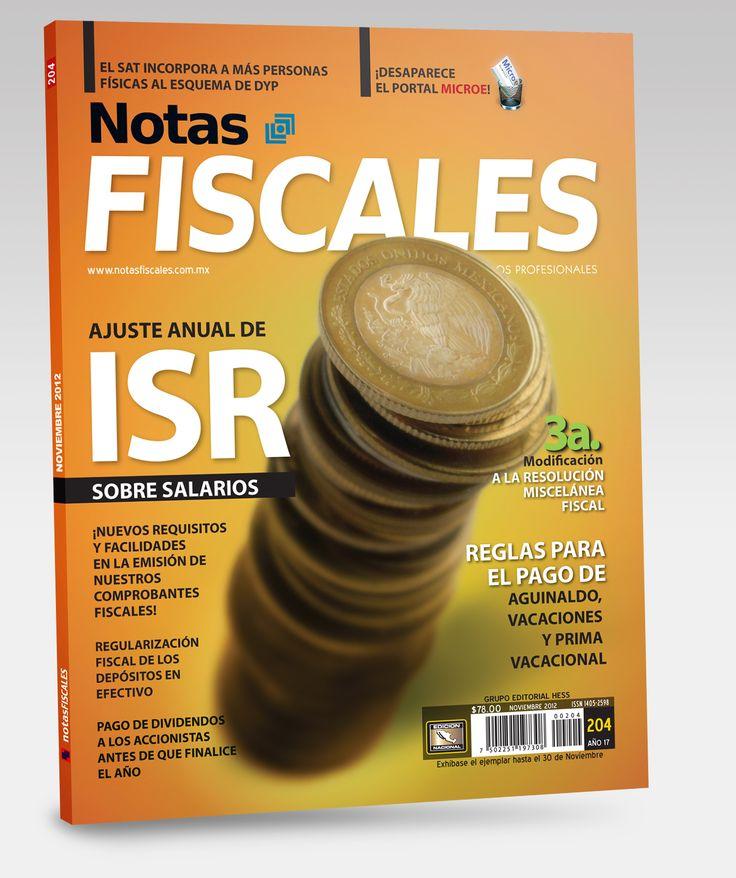 Revista Notas Fiscales #204 Noviembre 2012