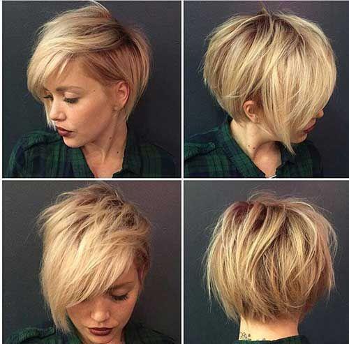 24.Blonde Pixie Cut