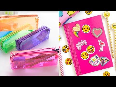 8 Easy Diy School Supplies Cheap Diy Crafts For Back To School With Diy Lover Youtube In 2020 School Diy Diy Back To School Supplies Cheap Diy Crafts