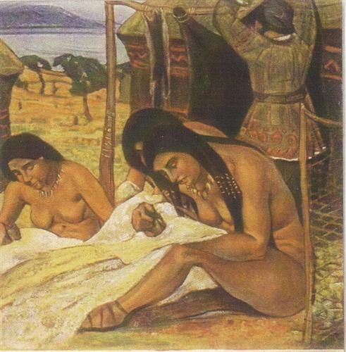 Conceive clothing (Stone Age) - Nikolái Roerich