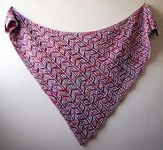 Ravelry: Sizzle Pop pattern by Lesley Anne Robinson - Now available in both square and triangle shapes!