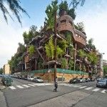 Vertical Forest: An Urban Treehouse That Protect Residents from Air and Noise Pollution
