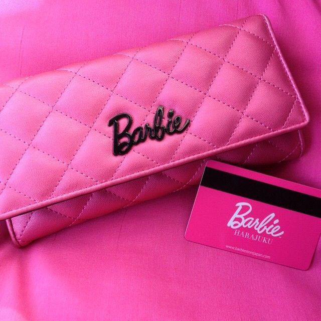Wallpaper For Baby Girl Room Barbie Purse And Credit Card Pink Aesthetic Barbie