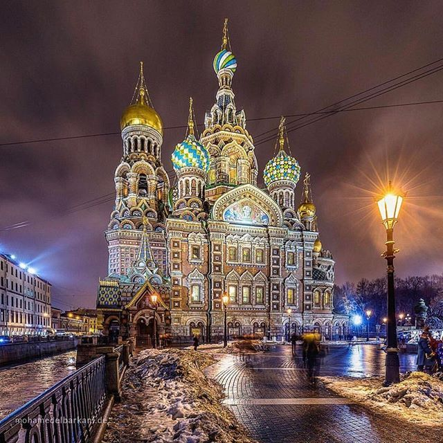 Church of the Savior on Blood #saintpetersburg #russia Photo Credit: @moelbar  Chosen by : @toinou1375 ≕≔≕≔≕≔≕≔≕≔≕≔