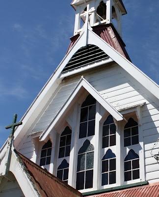 Wairarapa Churches: St Cuthbert's Anglican Church, Eketahuna