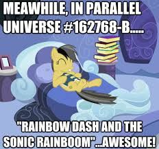 AWESOME! (holy cat this would be a great idea for an episode- Twi dose a spell or something and get the mane six in a parallel universe. boom.)