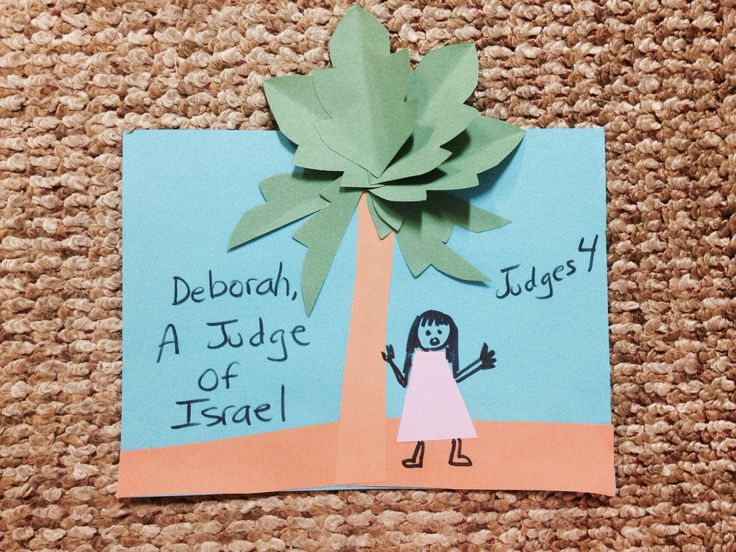 Deborah, a female judge. God delivers His people again from their enemies. Children's bible lessons straight from the Bible! Take a look and share!
