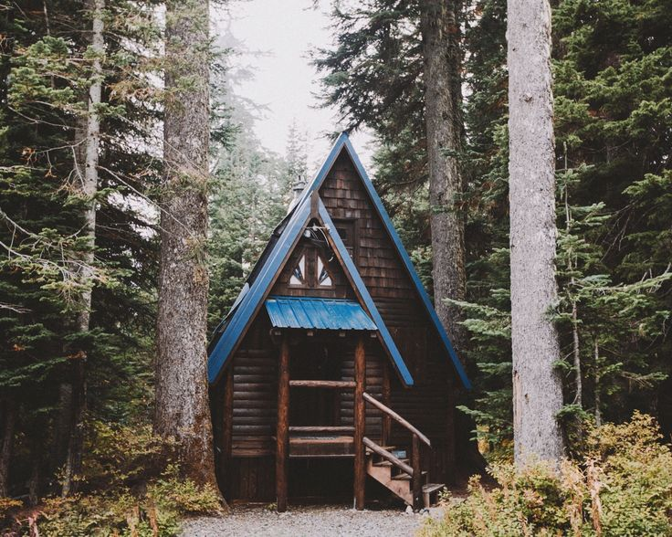 A Northern Cabin - andrewtkearns:   A-frame in WA.