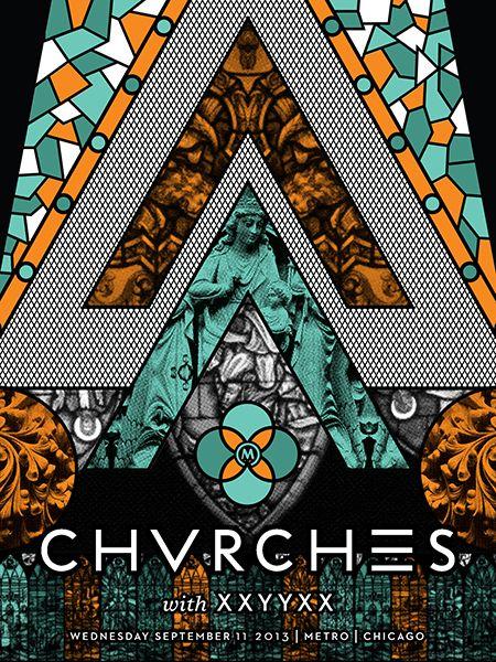 GigPosters.com - Chvrches - Xxyyxx