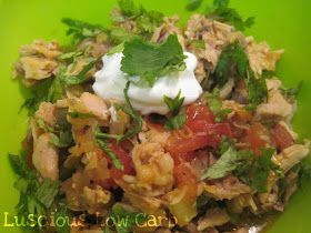 Luscious Low Carb: Chicken Guisado