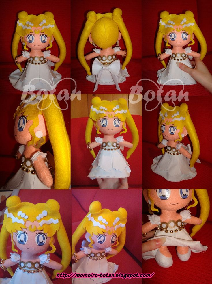 chibi Serenity plush version by Momoiro-Botan on DeviantArt