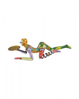 Escultura Acrobata - Thomas Hoffman #tomsdrag #thomashoffman #decoracao #escultura #amandapresentes #acrobata