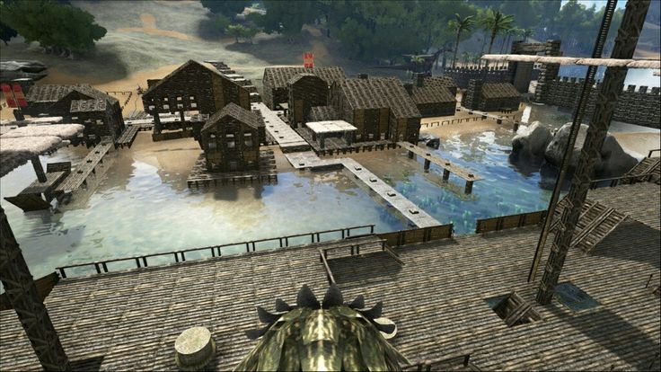 ark survival evolved bases building ideas mixer minecraft video games buildings videogames blenders video game