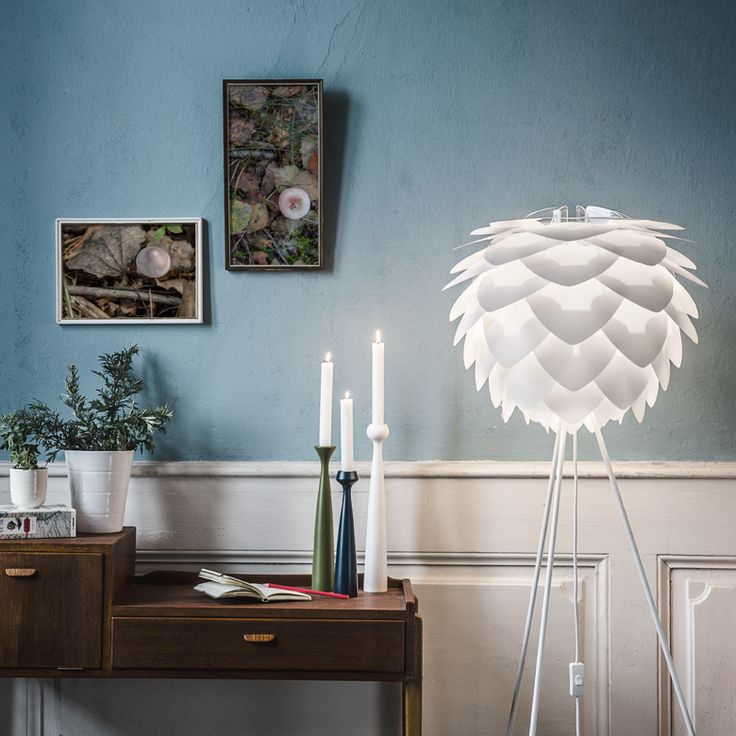 Du kombinerar själv din Vita Silva skärm och du kan skapa en lampa helt efter dina önsklemål.