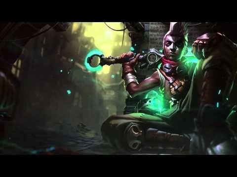 Ekko League Of Legends Login Screen With Music - YouTube