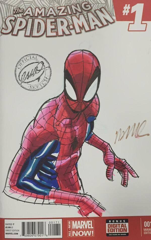 Spider-Gwen, Venom, Spider-Man, and Aracna by... - Art Vault