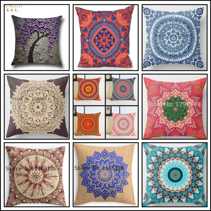 Would you like to renew all pillow of your house with very cheap pillowcovers? #mandala #pillowcase #pillowcover #pillow #homedecor #homedecoration #home #decor #decoration #mandalapillow