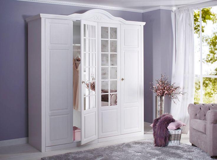 Awesome Kleiderschrank Carlo Mit diesem traumhaften Schlafzimmerprogramm schaffen Sie einen tollen Blickfang Die
