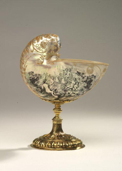 Nautilus Cup Austria, 1699 The Royal Ontario Museum
