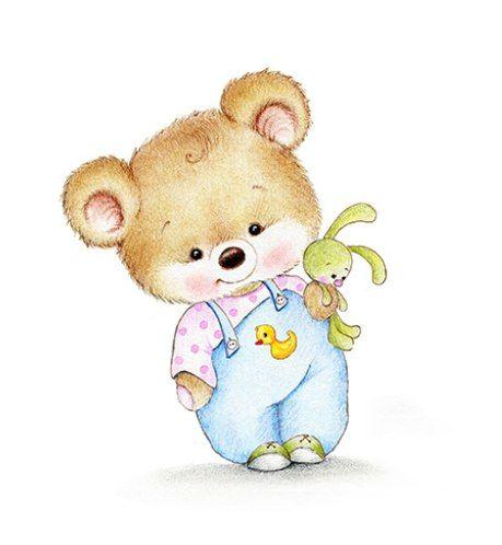 мишка с зайцем картинка вектор семейными парами