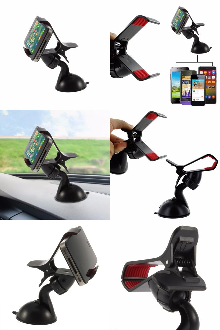 [Visit to Buy] 1pc Windshield 360 Degree Rotating Car Sucker Mount Bracket Holder Stand Universal for Phone GPS Tablet PC Accessories Newest #Advertisement