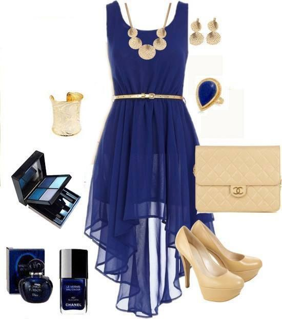 I love the dress and accessories combo but I could not for the life of me wear those shoes.