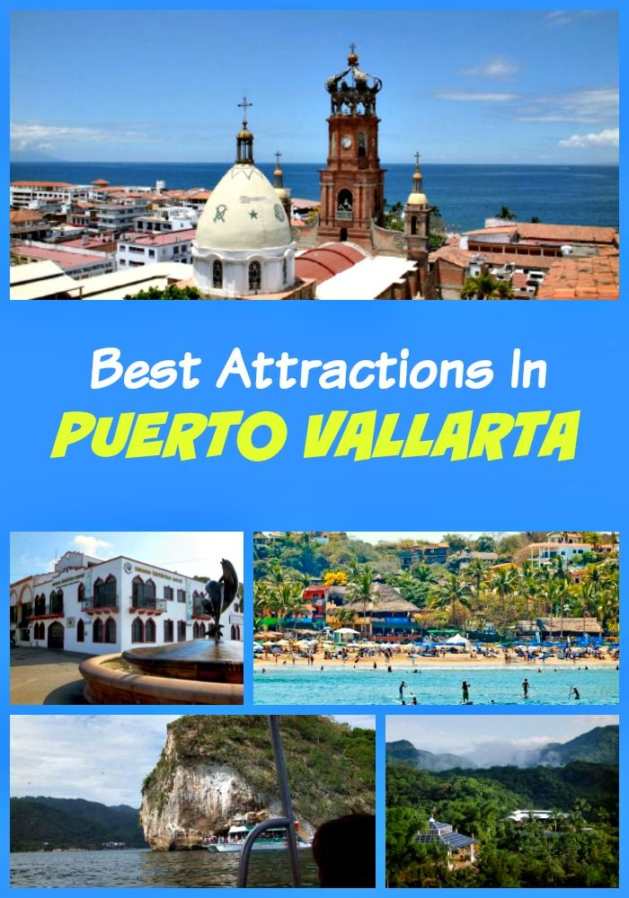 Top Puerto Vallarta attractions not to miss for tourists - Banderas Bay, Sierra Madre Mountains, El Malecon Boardwalk, Marietas Islands and other landmarks and points of interest